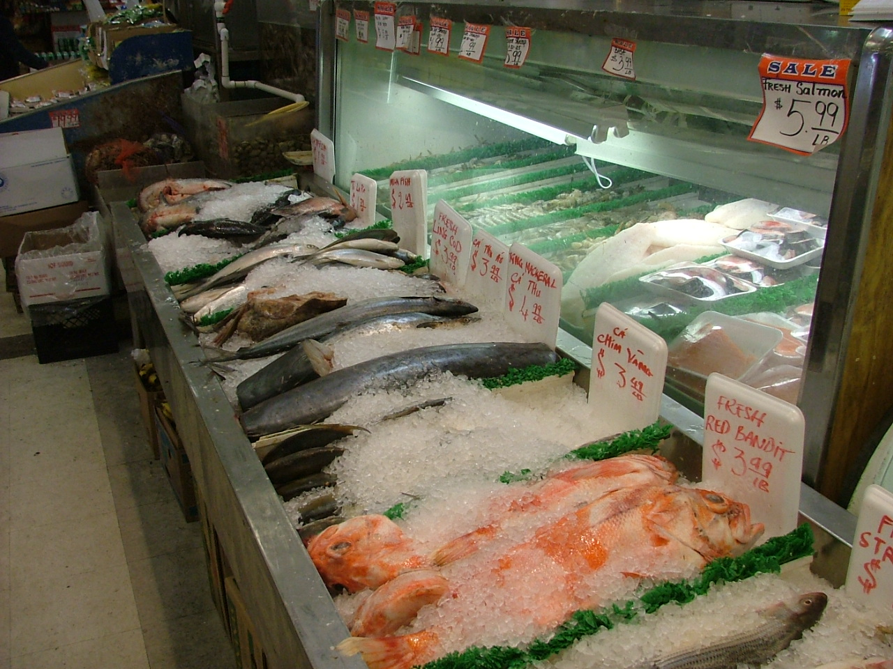 White center now the blog about white center sustainability for Oriental fish market